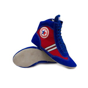 Blue sambo shoes
