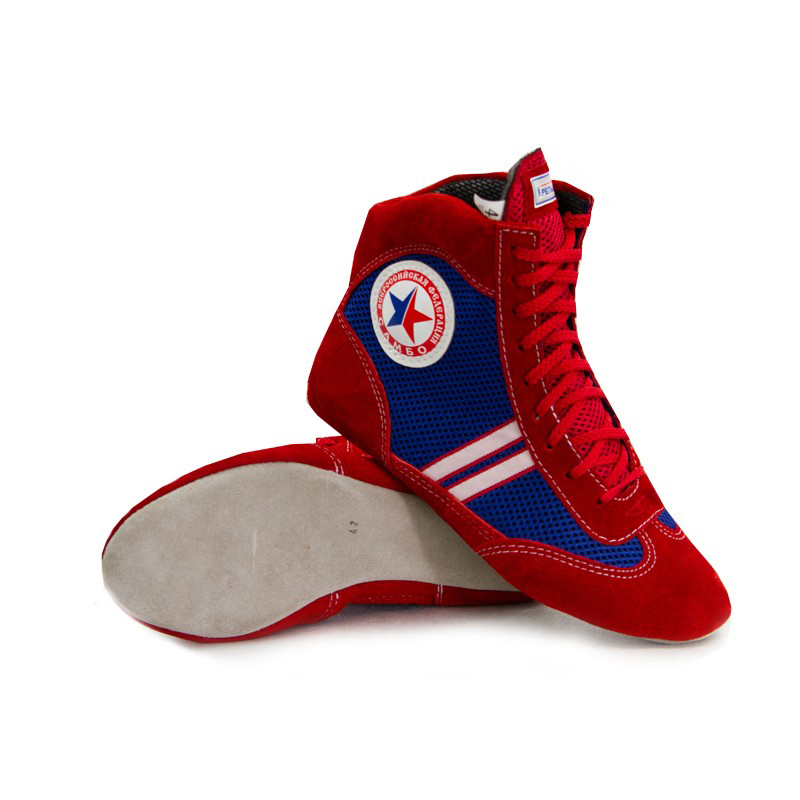 Red sambo shoes