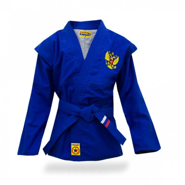 Blue children's sambo jacket