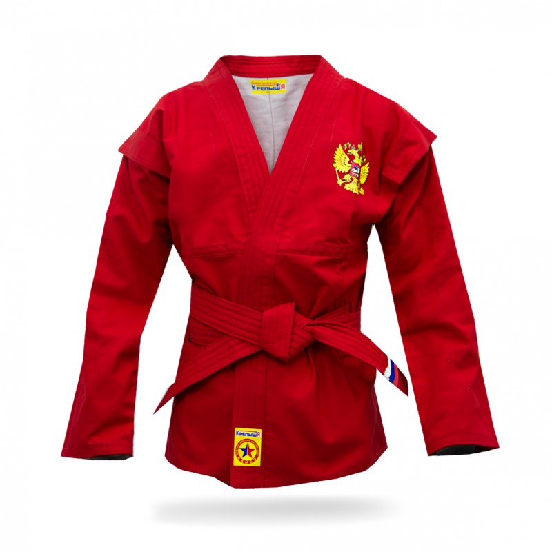 Red children's sambo jacket
